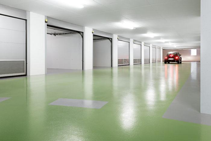come realizzare pavimentazione parcheggio coperto
