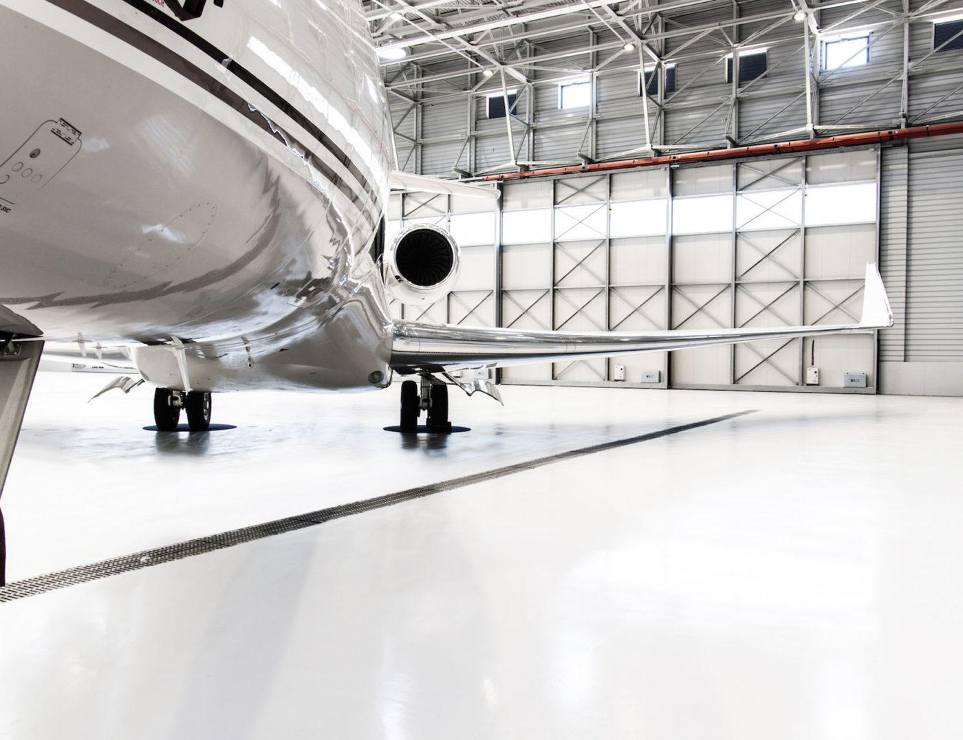 pavimentazione hangar milano