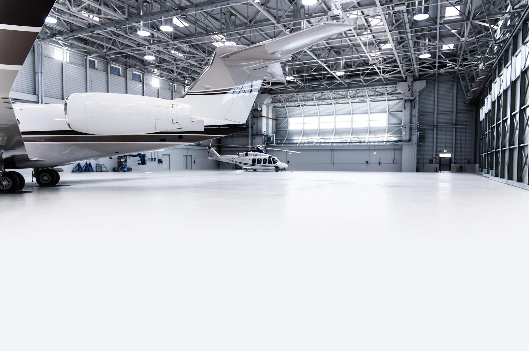 pavimento hangar milano