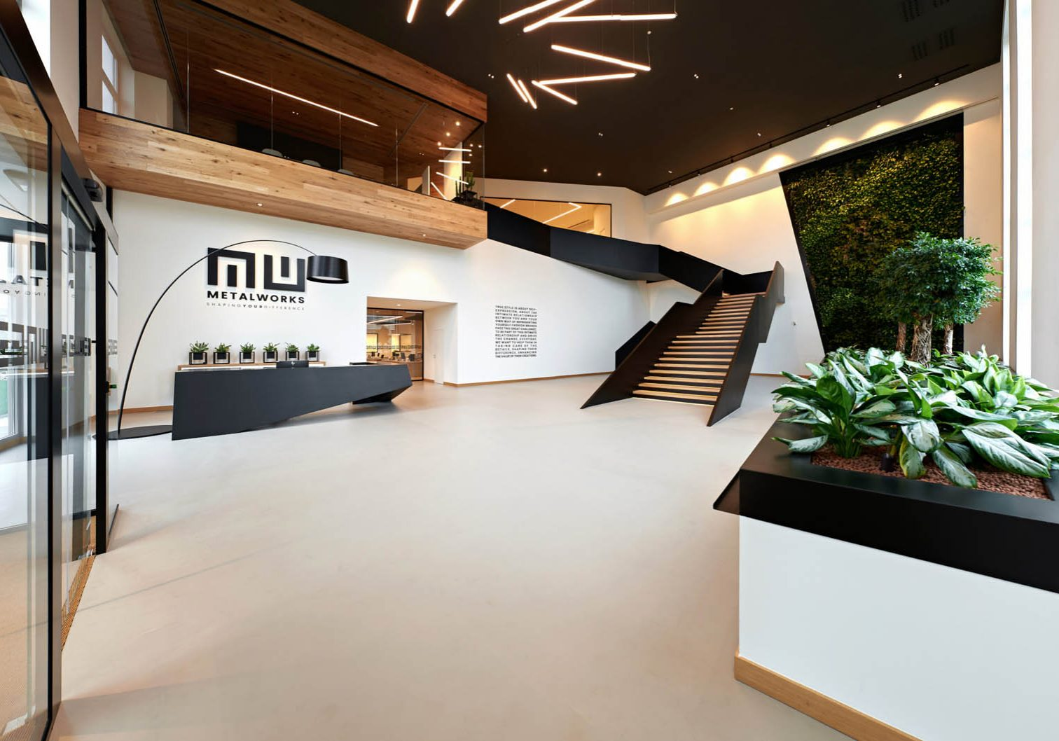 Metal Works new offices designed by AP Design